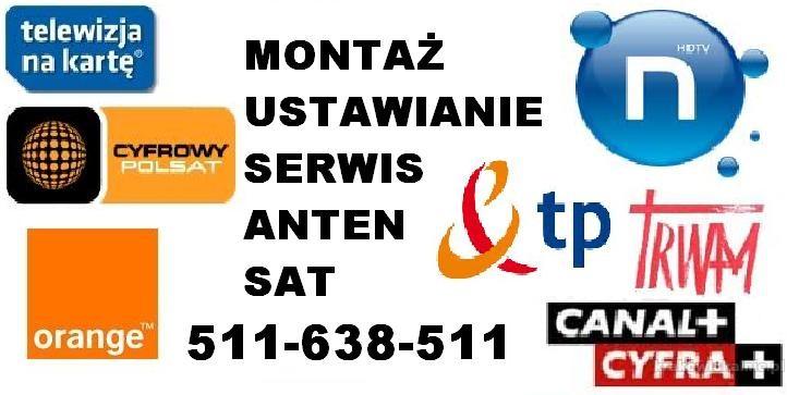 Instalacje, montaż, ustawianie anten Satelitarnych, DVB-T, sieci wi-fi, dostrajanie dekoderów