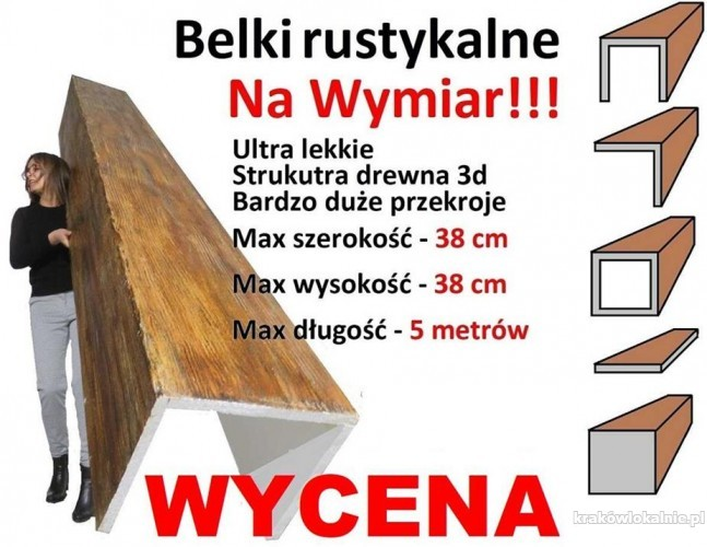 Elastyczne deski elewacyjne PlasterTynk, imitacja drewna