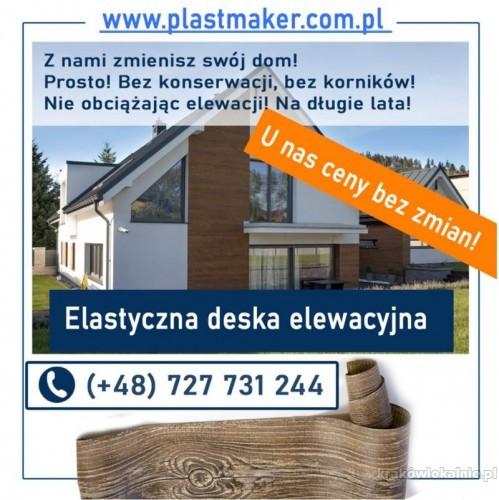 Elastyczna deska elewacyjna PlasterTynk - zestaw próbek GRATIS